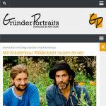 Gründerportraits Online-Magazin